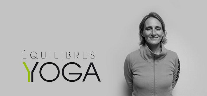 Salomé, enseignante Iyengar et fondatrice de Equilibres Yoga